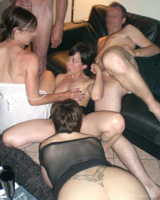 Slut Wife Swinger Party