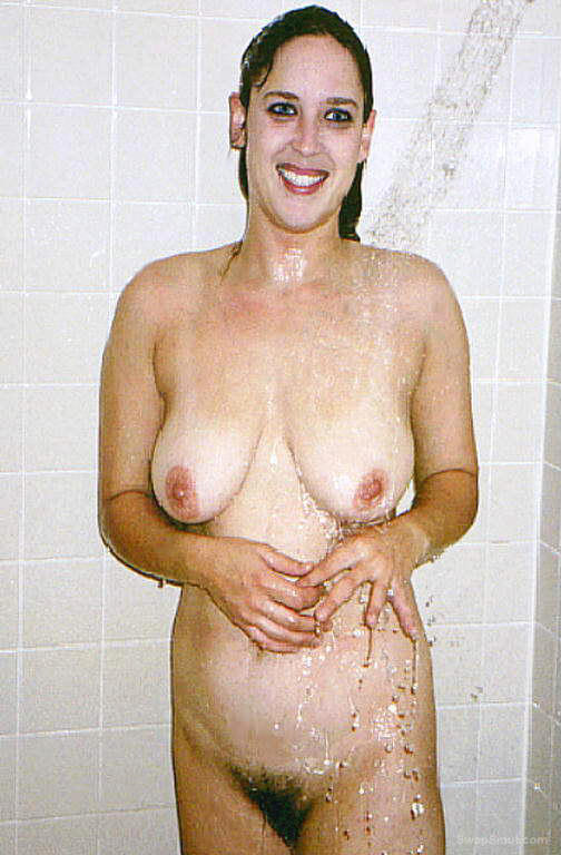 Crystal in the shower for your enjoyment