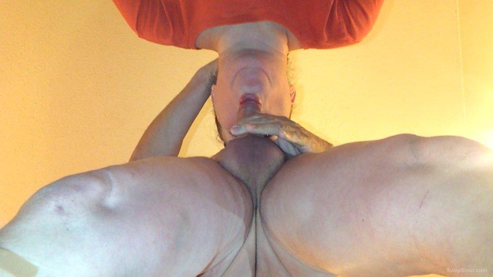 BBW sucking and engulfing my throbbing cock