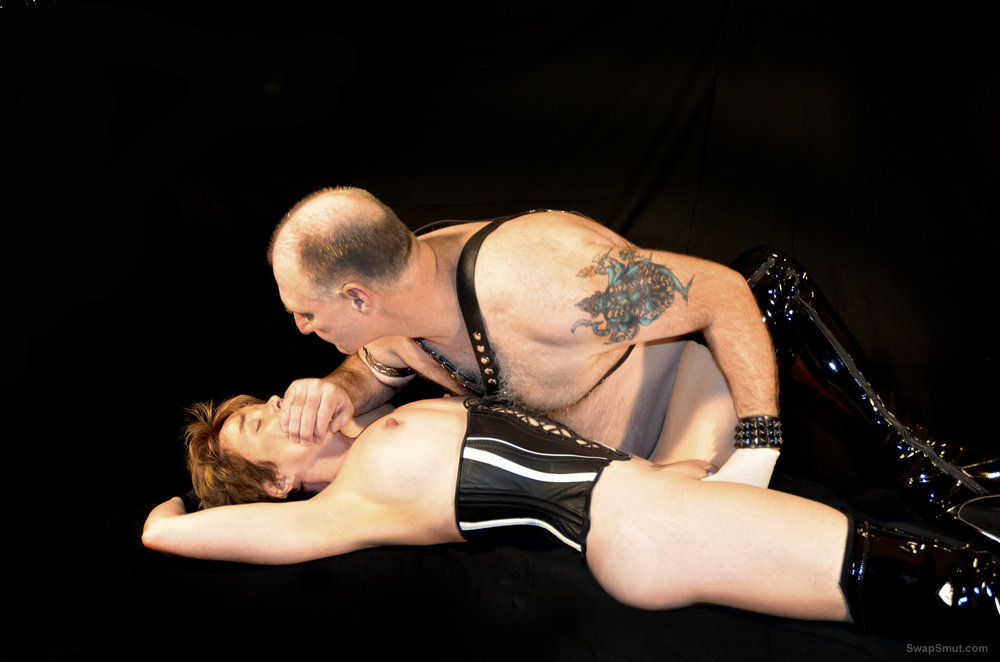 Michael and Mistress Malicia Up In MORDOR pvc fetish amateur sex