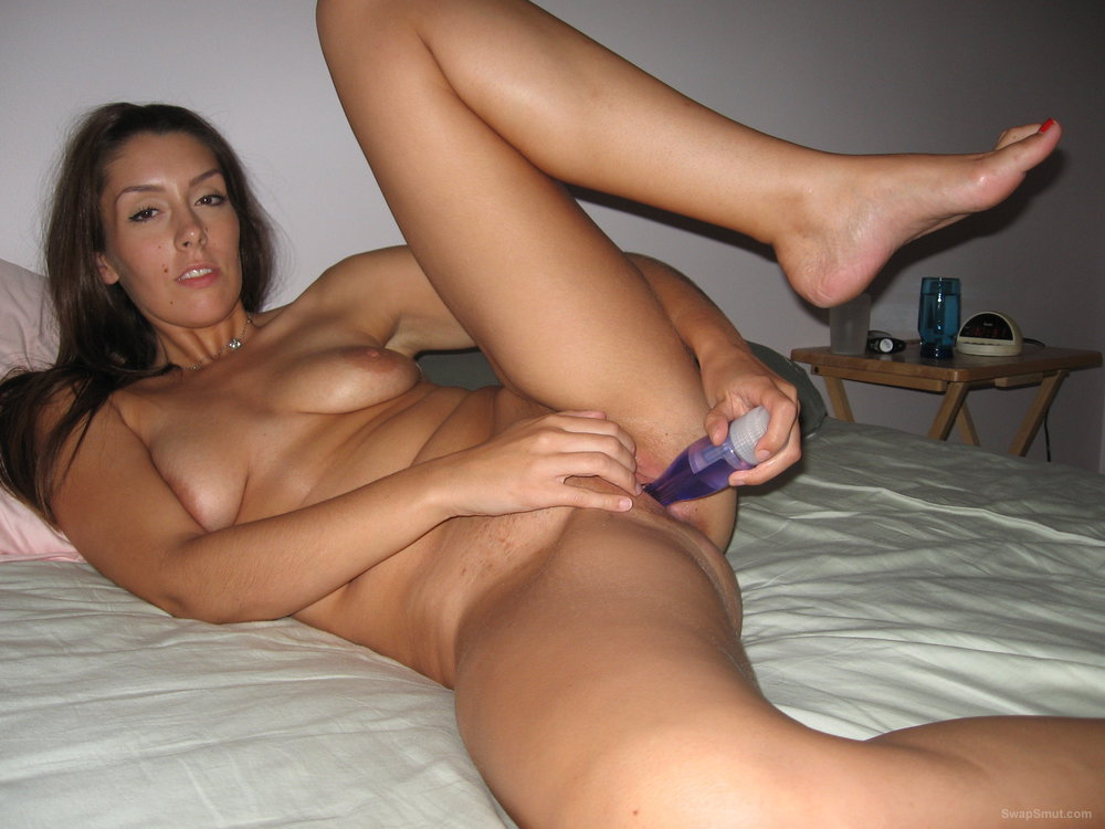 Topped up the Mrs see her pussy oozing cum
