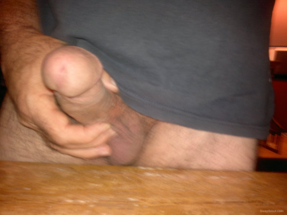 first timer showing my cock