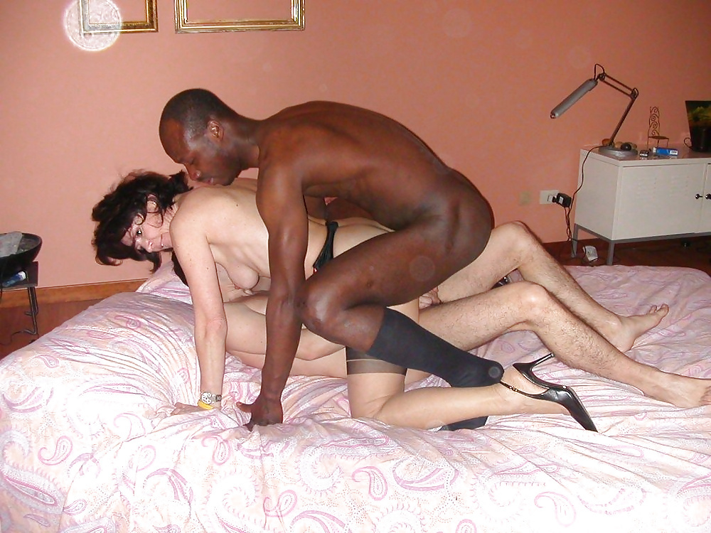 double Mature penetration interracial wife