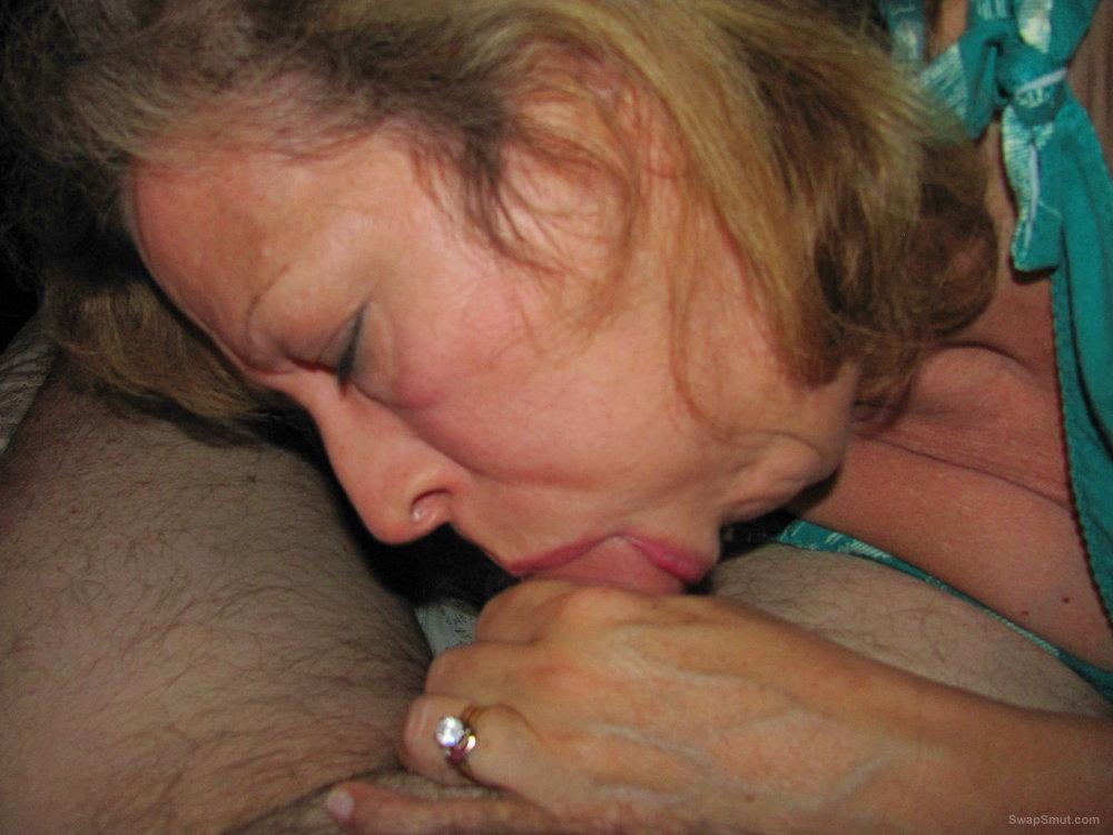 Mature Wife Sucking Cock