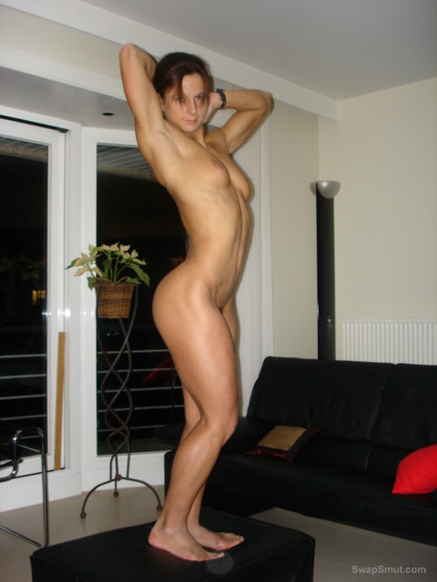 SARAH has a very tight and sexy body love showing it off hot