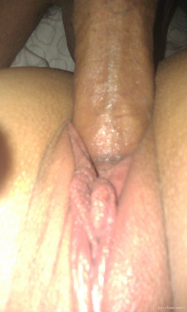 wifes creamy pussy so dam good to fuck her wet hle