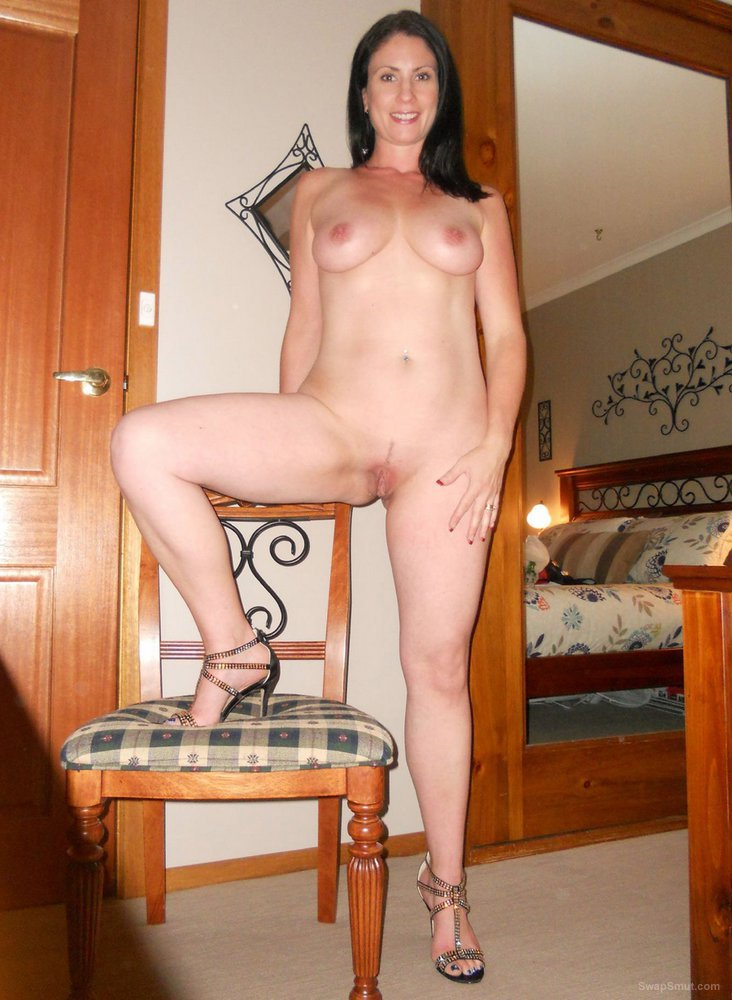 Busty brunette milf sexy adventures part I