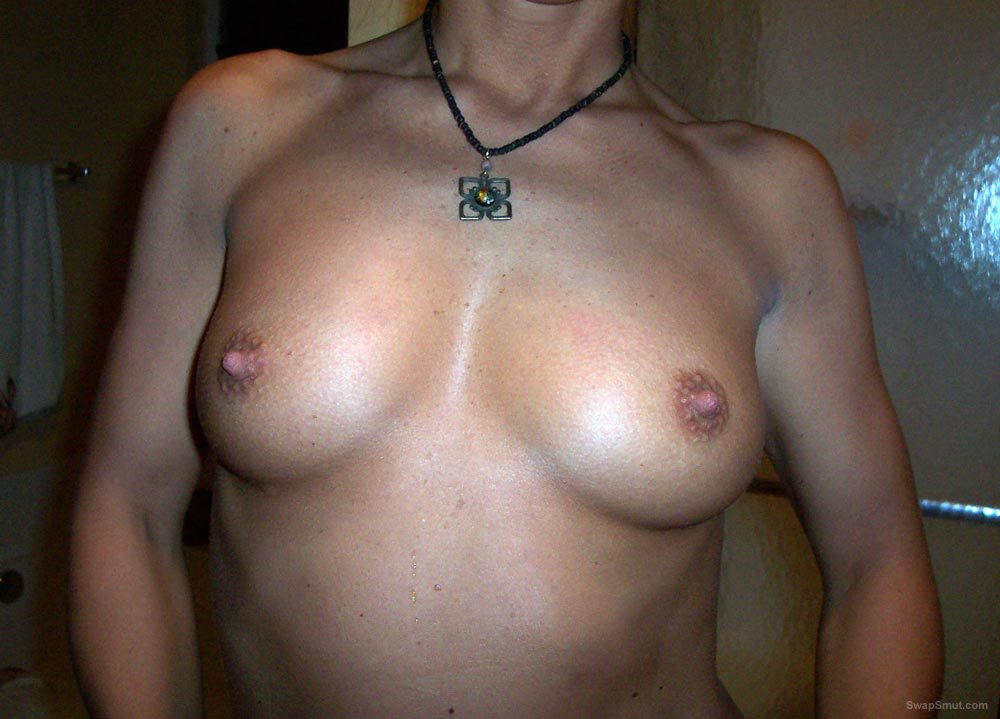 A shy MILF showing off her sexy body ready for action after pics