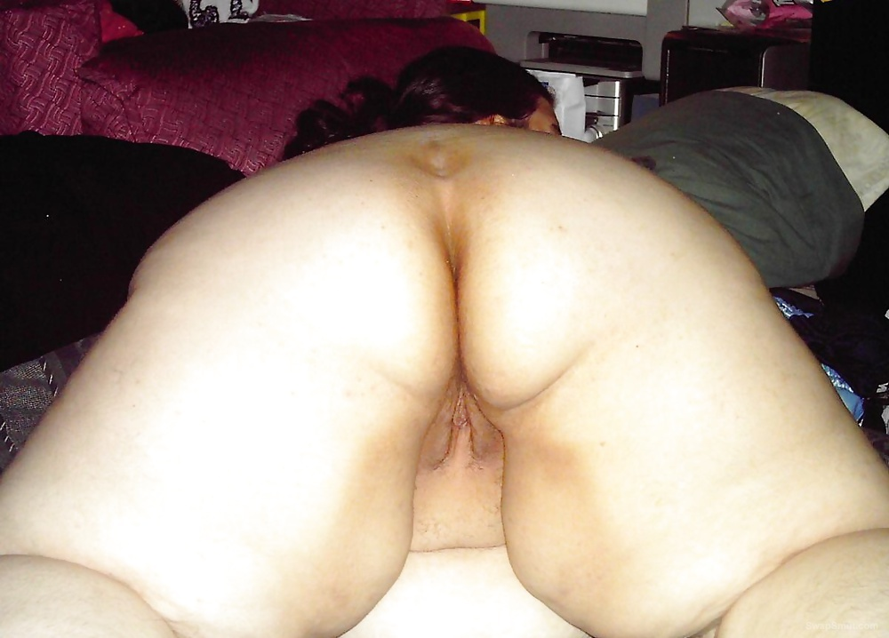 My fat sexy brunette wife showing off her fat body