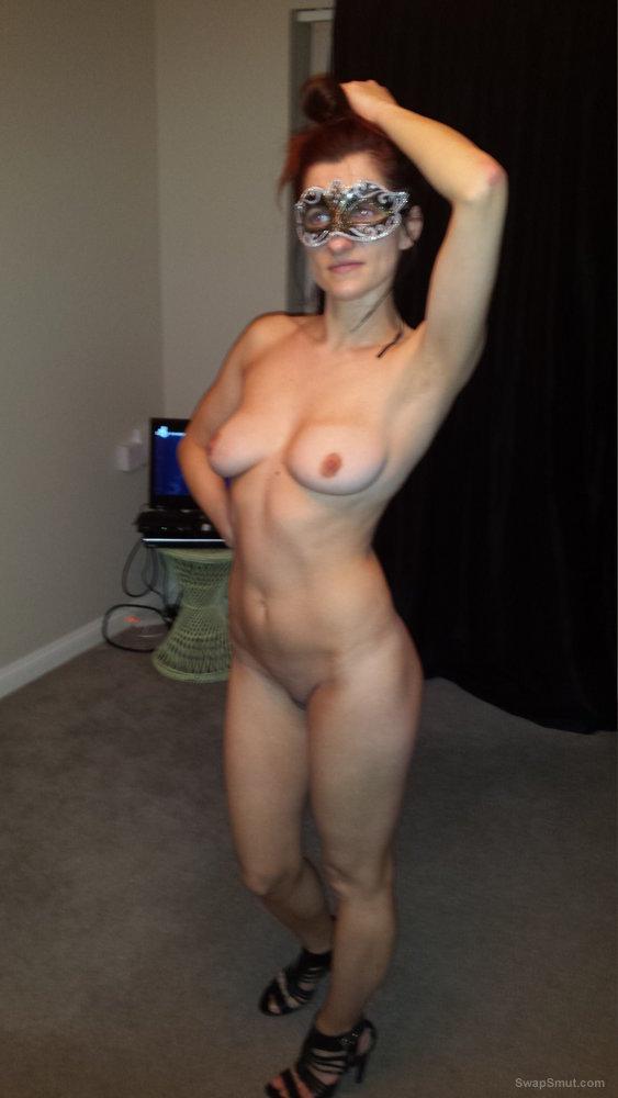 My slut polish wife posing for the camera