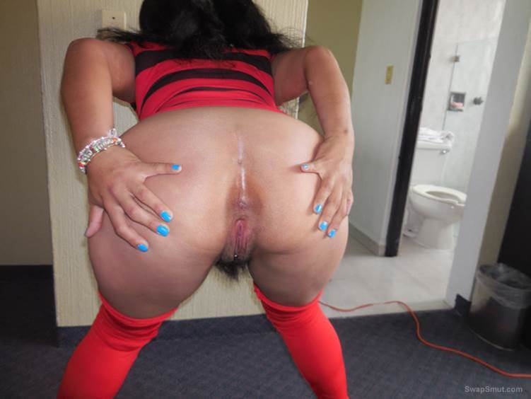Anthology of Mexican perverted ladies standing showing her ass 04