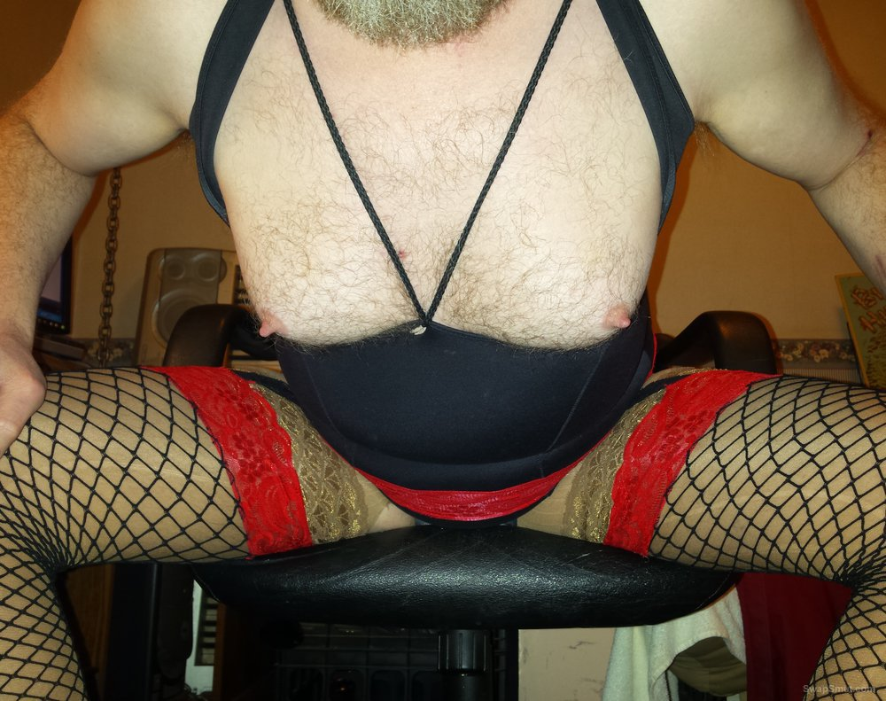 More nylon love my tits worked