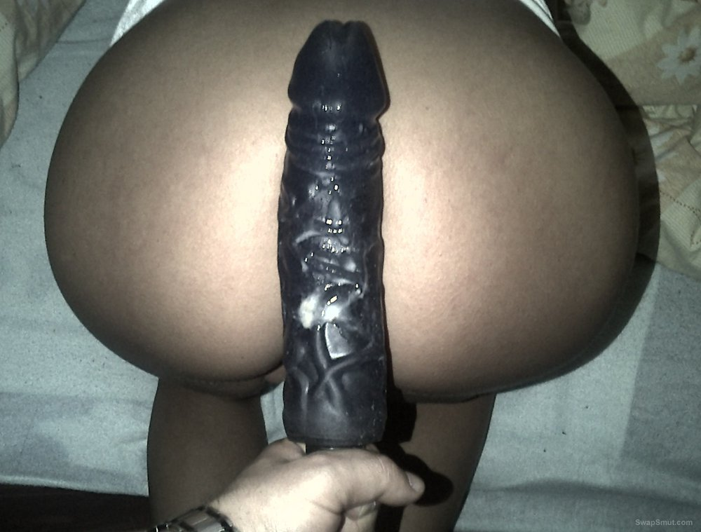 Wife loves a huge dildo