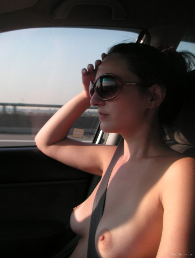 Arya Goes for Another Drive Wearing Her Skimpy Wardrobe