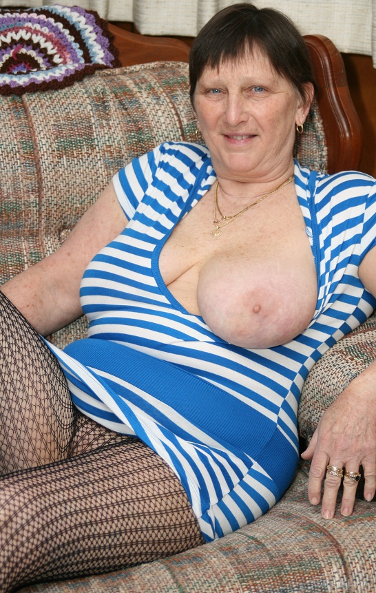 roberta naked granny