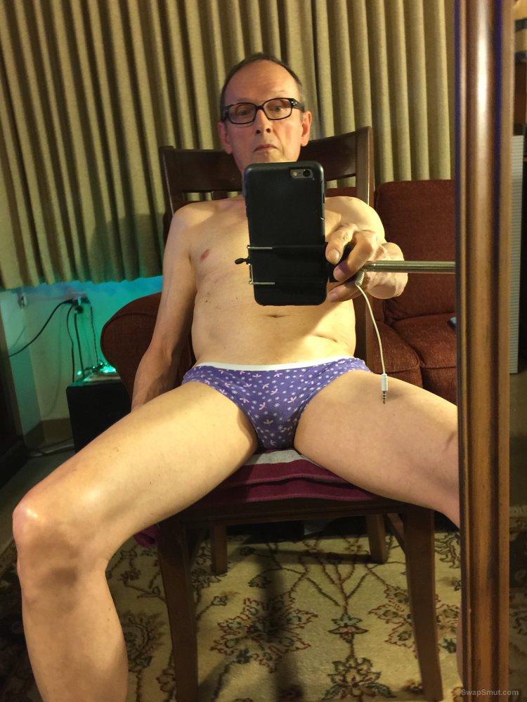 Panty waist fag pervert exposes himself