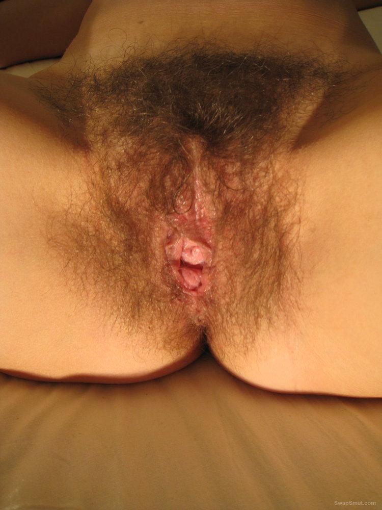 My hairy wife