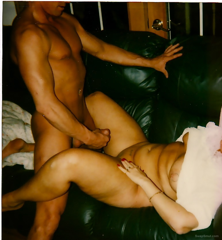 Take a pic of your cock cumming on wifes pics so we can look at it