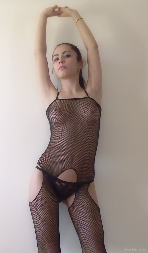 fishnet bodystocking Amateur