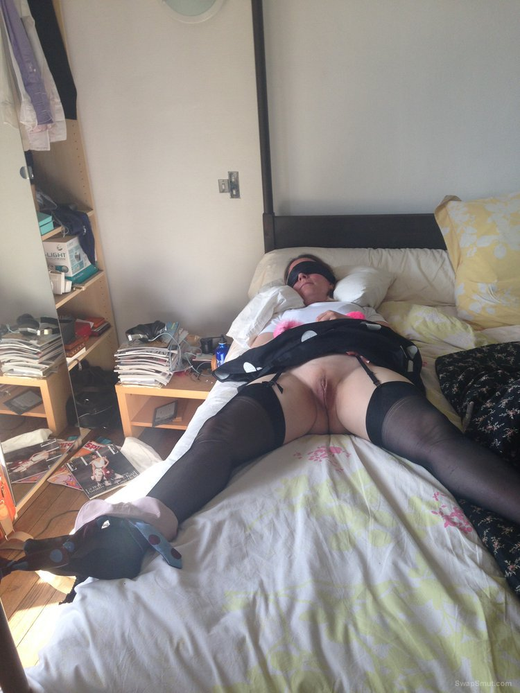 My wife had been naughty so I tied her up and used her