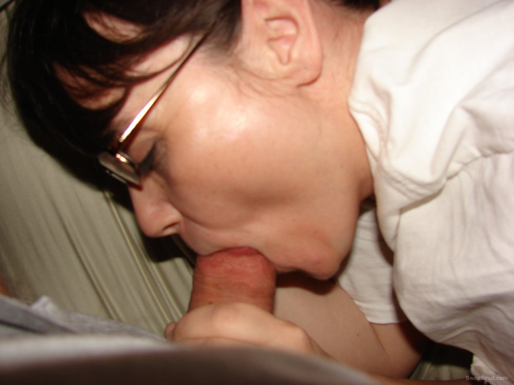 wife giving blow job