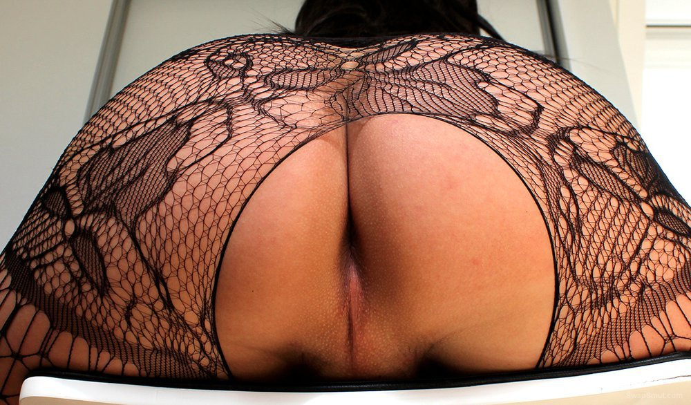 Slutty Mascha in catsuit and chastity feeling horny