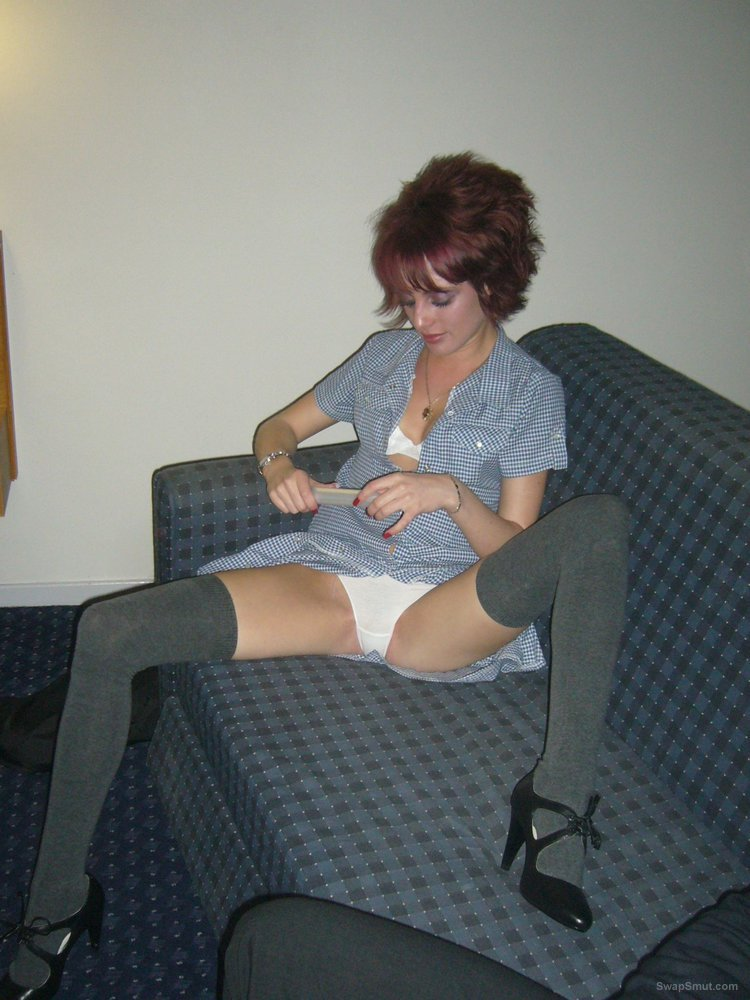 Attractive wife loves to be photographed during sex