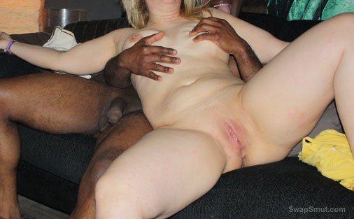 interracial swinger sex pics wife with black man