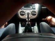 Riding The Car Gear Shifter
