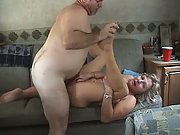 Mature amateur group sex swinger porn shot in a park trailer