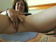 Jody Self Made Masturbating Video