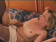 Black bull showing cuckold white wife what an big black cock can do