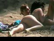 Butt naked girlfriend sucking her boyfriend