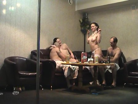 Wife pole dancing naked phrase