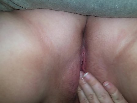 Playing My Pussy After Work