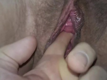 Wet Pussy Fingering Close Up