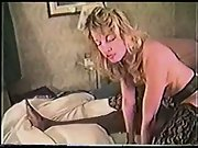 Blonde white cuckold housewife with big dicked muscled black bull stud