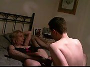 wife fucks young boy