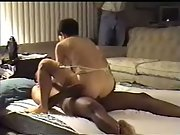 Late night sex rendezvous with black lover interracial amateur porn