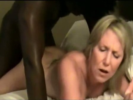 Cuckold wife banged massive black dick