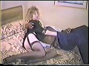 IR blonde amateur wife