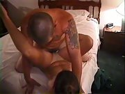 Homemade wife swap bitch gets spread around the guys nympho