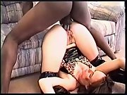 A redhead wife gets fucked by a BBC suck loves the bigger black dick