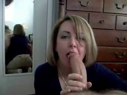 Wife Blowjob Dressing Room