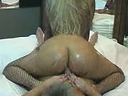 Anal wife riding on top and with creampie