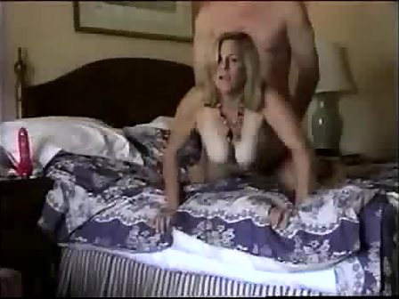 Phat Tits Wife Gets It From Behind
