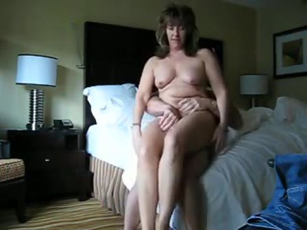 Fat mature couple quickie