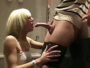 GF Deepthroat and swallow