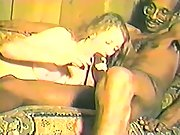 Interracial Sex Blonde Wife Breeding With A Huge Black Dong