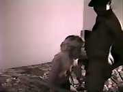 Cuckold tapes wife with black